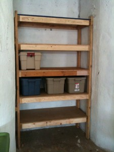 Joshua Smith built some fantastic shelves!
