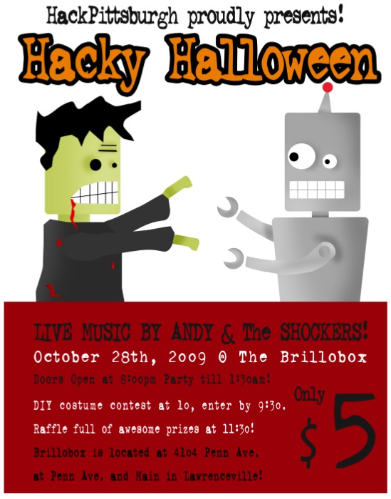 HackPittsburgh presents Hacky Halloween