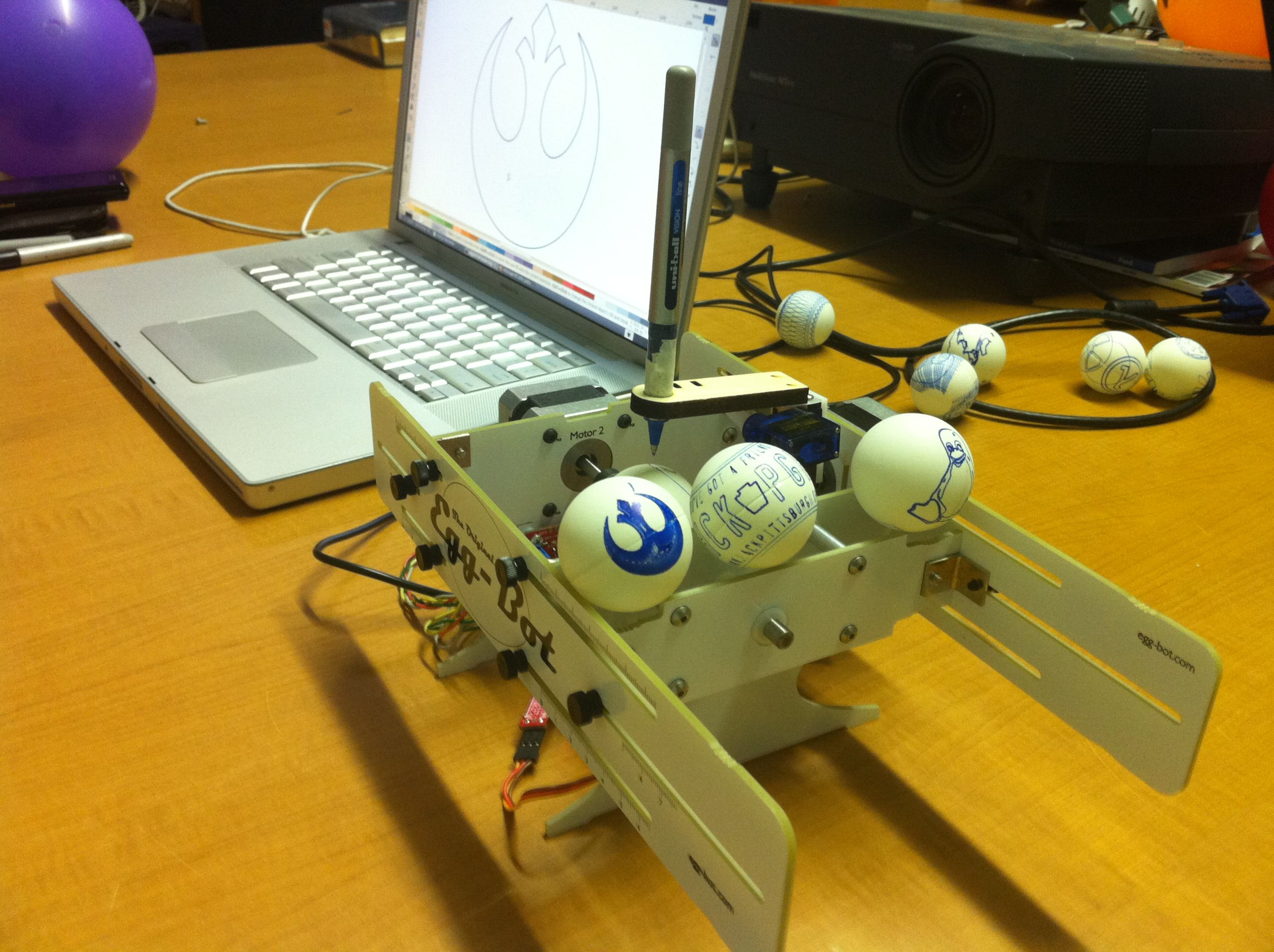 Egg Bot And Omelettes Sikesee Update Hackpgh