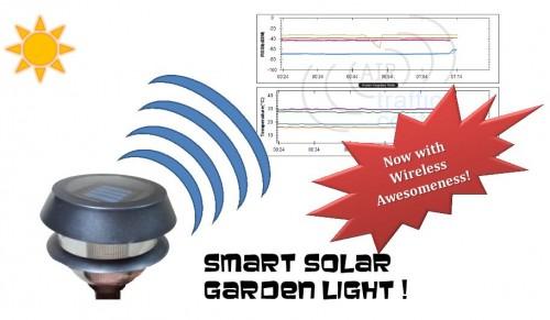 Smart Solar Garden Light!