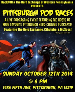 Oct 12th! Live Podcasting Event