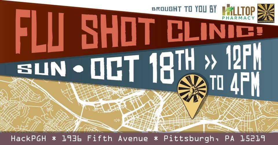 Flu shot anouncement